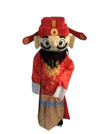 Caishen Mascot Pattern 1 2