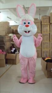 Cute Pink rabbit bunny